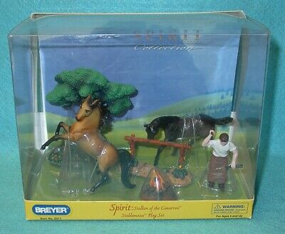 BREYER STABLEMATE SPIRIT STALLION OF THE CIMARRON PLAY SET #