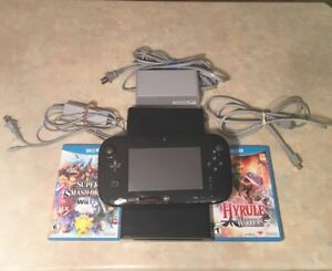 ~260$(CAN)Negociable ~Wii U +Super Smash bros+ Hyrule Warriors