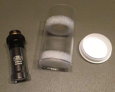 Carl Zeiss Plan 10.04 160- Microscope Lens Hwy