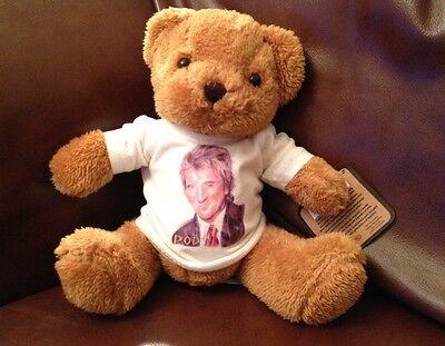 ROD STEWART 8 inch VERY CUDDLY TEDDY BEAR