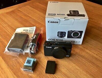 Canon M100 24 Megapixel Mirrorless Camera