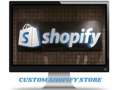I Will Build A Custom Starter Shopify Dropshipping Storewebsite - Ready In 1-2