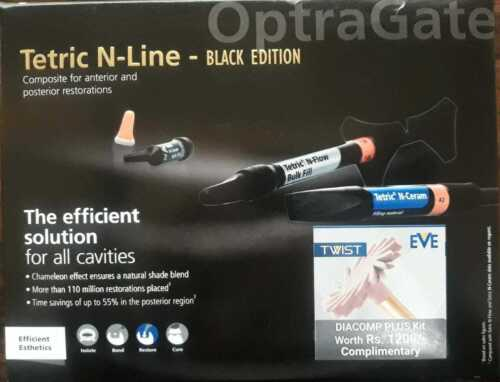 New Ivoclar Vivadent Tetric N-Line Black Edition for Anterior & Posterior