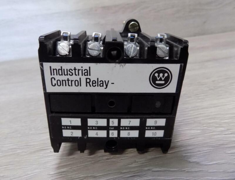 Westinghouse ARD440S 600DC Industrial Control Relay