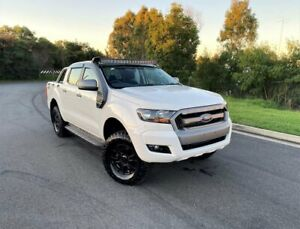 2016 Ford Ranger PX MkII XLS Double Cab White 6 Speed Manual Utility Darra Brisbane South West Preview