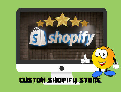 I Will Build A Custom Shopify Dropshipping Storewebsite - Ready In 1-2 Days