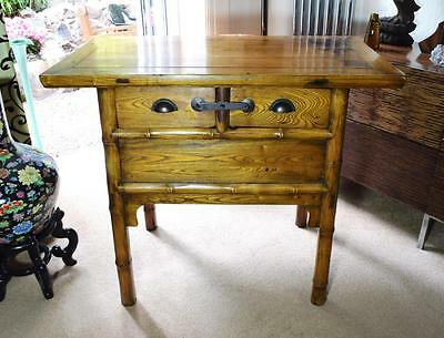 Vintage Chinese Shanxi Altar Table Cabinet
