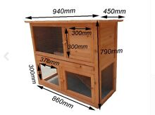 Double Story Rabbit Hutch and starter pack Airport West Moonee Valley Preview