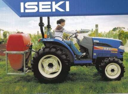 ISEKI TG5330 4 x 4 TRACTOR & FRONT END LOADER WITH 4 IN 1 BUCKET Whittlesea Whittlesea Area Preview