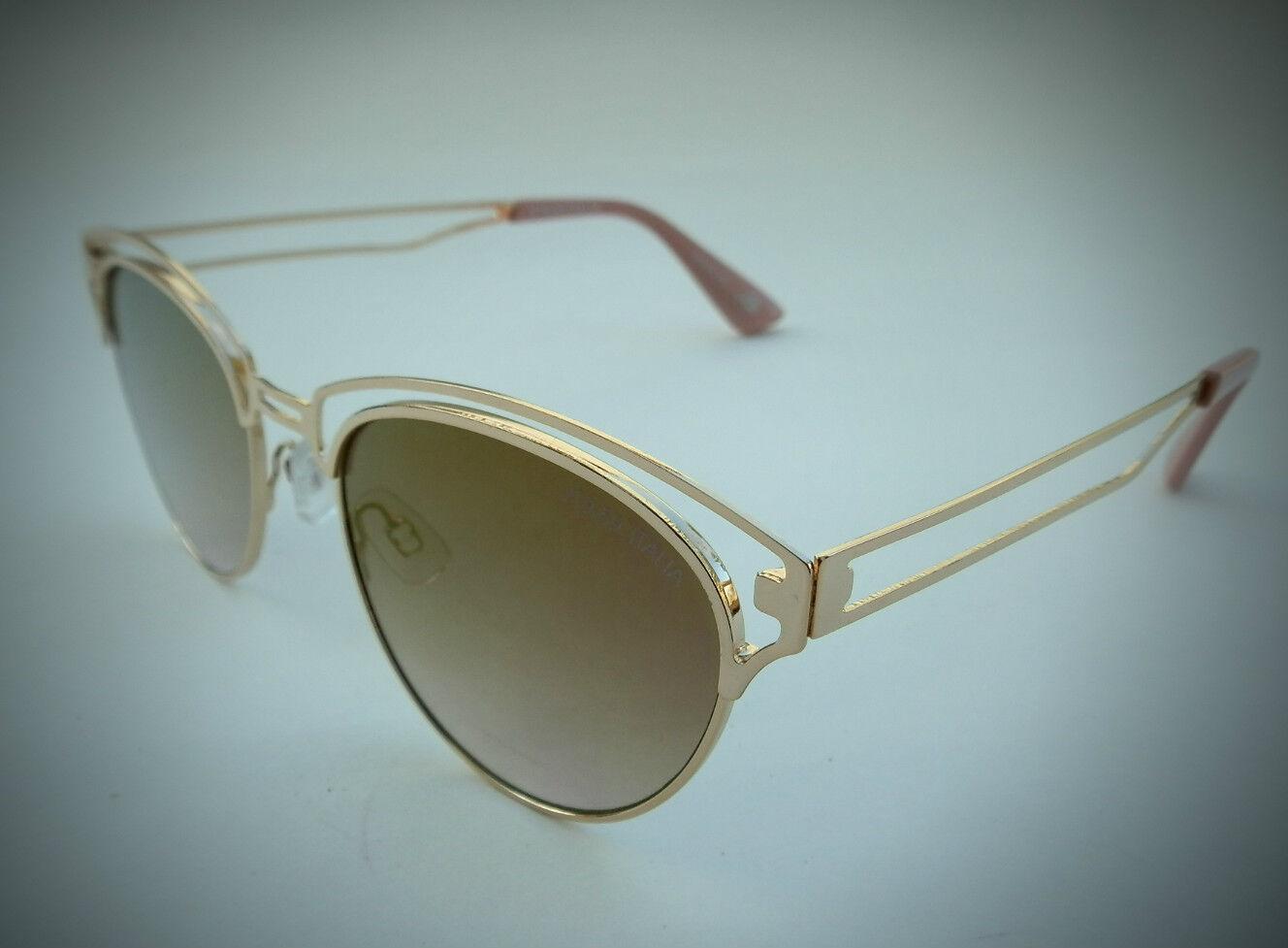 6c286bb36639 NEW women s VERSACE 1969 ITALIA pink gold cat eye sunglasses
