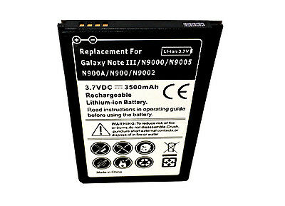 Samsung Galaxy Note 3 SM-N900A 1X Battery Replaceent Spare Extra AT&T One USA for sale  Shipping to India