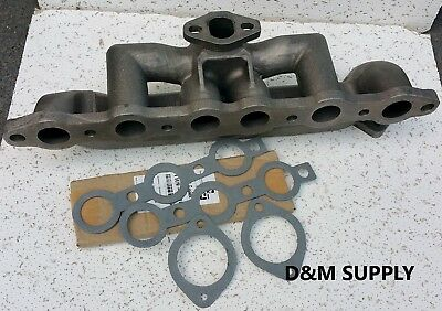 Ford Tractor 4 Cyl Exhaust Manifold 4110 4120 4130 5010s 600 621 631 640 641 650