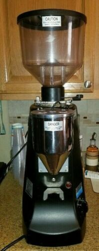 Mazzer Robur Electronic Espresso Grinder - Black