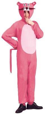 Herren Damen Pink Panther 1970s Jahre TIER CARTOON Kostüm Kleid Outfit M & L