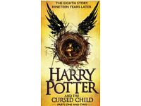 Harry Potter and the cursed child theatre tickets part I and part II