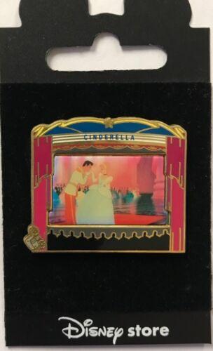Japan Disney Store Cinderella & Prince Theatre Pin Series LE Pin