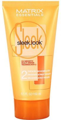 Sleek Look Miracle Reconstructor (Matrix Essentials Sleek.Look Step 2 Miracle Reconstructor 5.1oz )