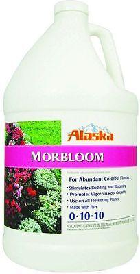 Alaska Garden Full Bloom Flower 0-10-10 Morbloom Fish Fertilizer, 1 Gallon New