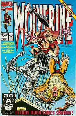 Wolverine # 45 (Marc Silvestri) (Sabretooth appearance) (USA, 1991)