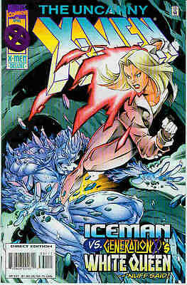 Uncanny X-Men # 331 (White Queen co-stars) (USA,1996)
