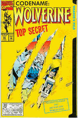 Wolverine # 50 (Marc Silvestri) (64 pages) (USA, 1992)
