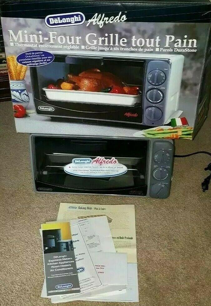 "Delonghi Alfredo Ultima XU620 Toaster Oven W/Pan 16""×12""×9"" *NEW* NOS *RARE* LG"