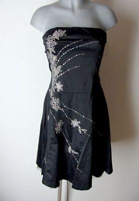 zes Satin Glanz Kleid ohne Träger von CKM Gr S IV16 (Süß 16 Kleider)