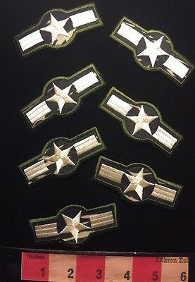 Lot Of 7 Costume Army Star Military Patch ~ Not Real, Cheap Costume Play - Cheap Army Costumes