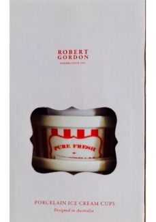 Robert Gordon Red and White Stripe Ice Cream Cups Maitland Maitland Area Preview
