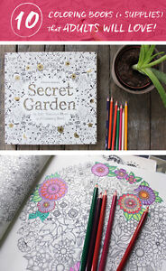 10 Coloring Books + Supplies Adults Will Love