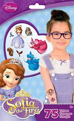 Sofia The First Tattoos- 75 Ct. Party Favour](Sofia The First Tattoos)