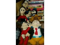 Popeye plush collectibles 1993 Grove International
