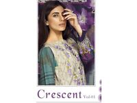 CRESCENT VOL-1 WHOLESALE PAKISTANI PRINTED DRESS MATERIAL