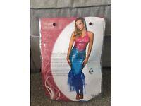 Adult mermaid costume size 12-14