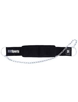 RIMSports Weight Lifting Belt Clip (Included) Best Weight Belts BLACK   NEW