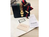 Gucci mini Sylvie chain bag NEW Receipt
