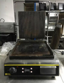 Buffalo GJ452 jumbo contact grill