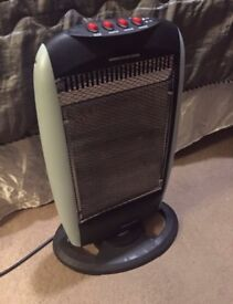 Osculating 1,200W Standing Heater (3 x 400W) with Safety Switch Anti-Fall