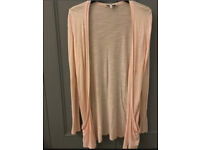 C new look peach cardi 12