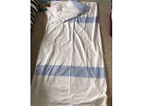 Brand New Double Duvet Cover - Blue & White