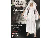 Halloween corpse costume size 12- 14