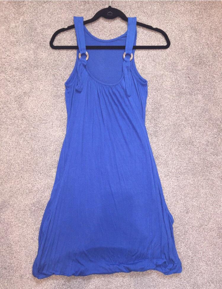 Size 10 blue vest dress
