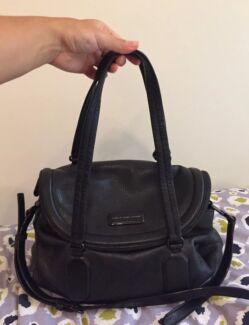 Genuine designer MARC BY MARC JACOBS black 100% leather shoulder bag