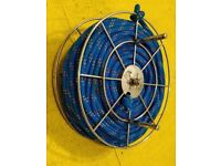 STERN MOORING REEL, with 35m of 12mm floating line