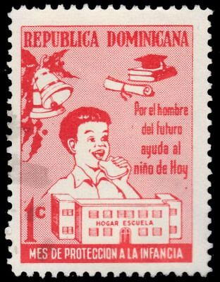 "DOMINICAN REPUBLIC RA40 - National Child Welfare Fund ""Postal Tax"" (pf38018)"