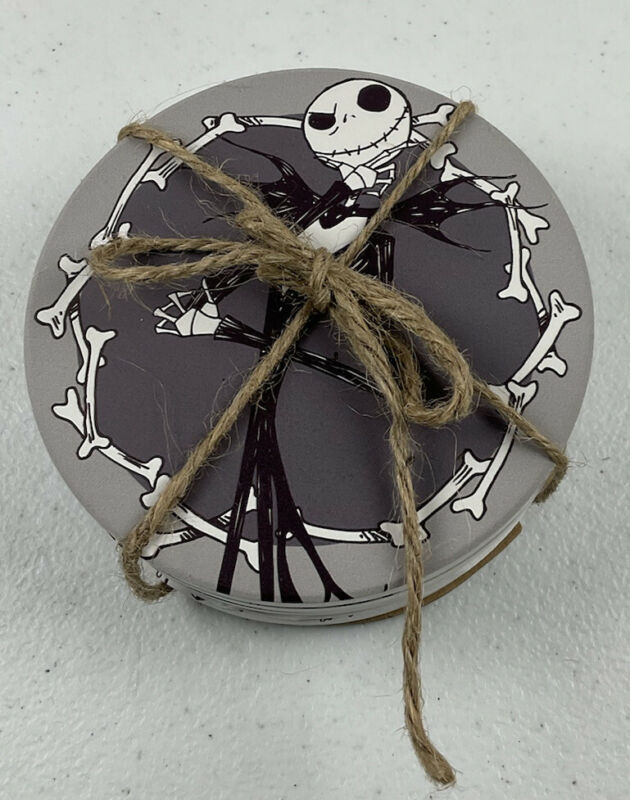 Disney Nightmare Before Xmas Jack Skellington Halloween Coasters set of 4