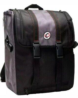 Case It Backpack With Binder Holder Blackgrey