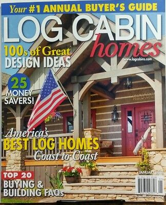 Log Cabin Homes Jan 2018 Americas Best Log Homes Coast to Coast FREE SHIPPING (Best Log Cabin Homes)