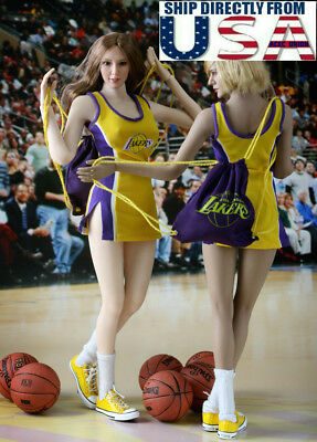1/6 NBA Lakers Cheerleader Costumes Set B For 12