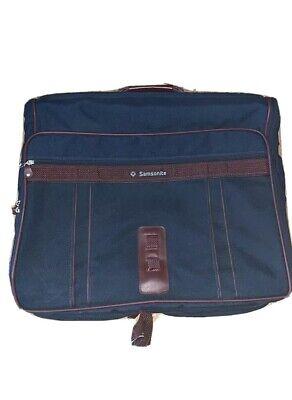 Samsonite Garment Bag Suitcase Large Blue